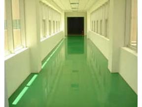 Epoxy mortar self-leveling floor
