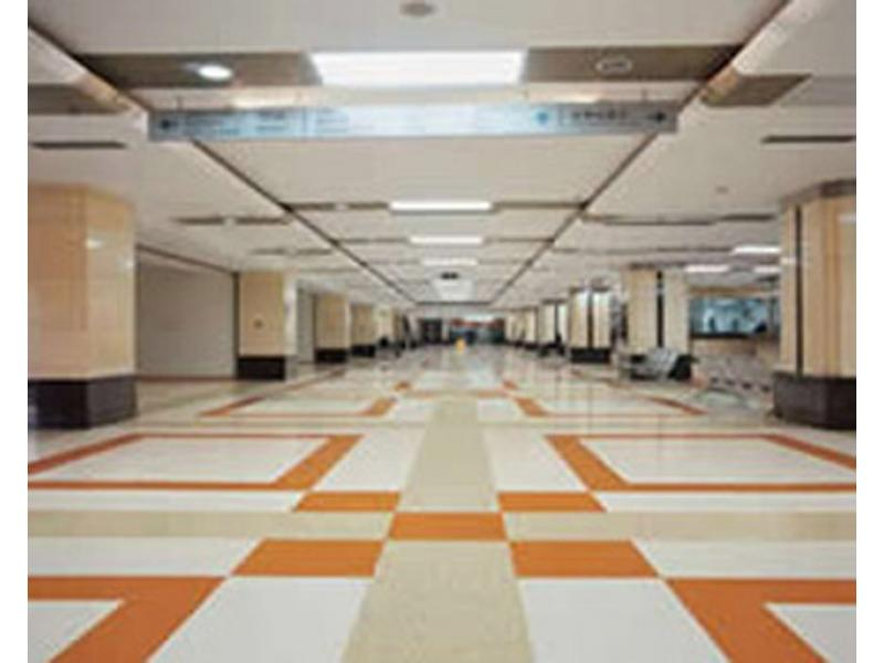 Epoxy resin color sand floor coating