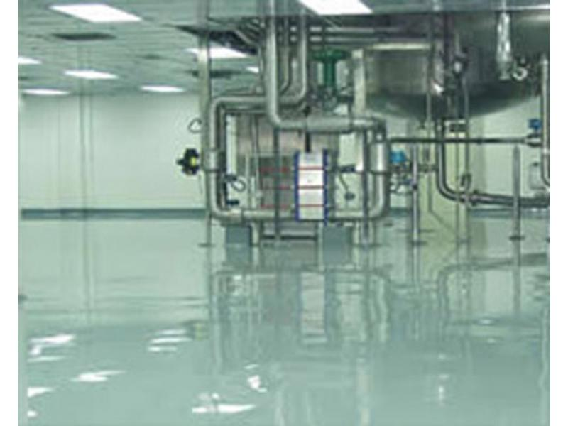 Vinyl ester heavy anti-corrosion floor