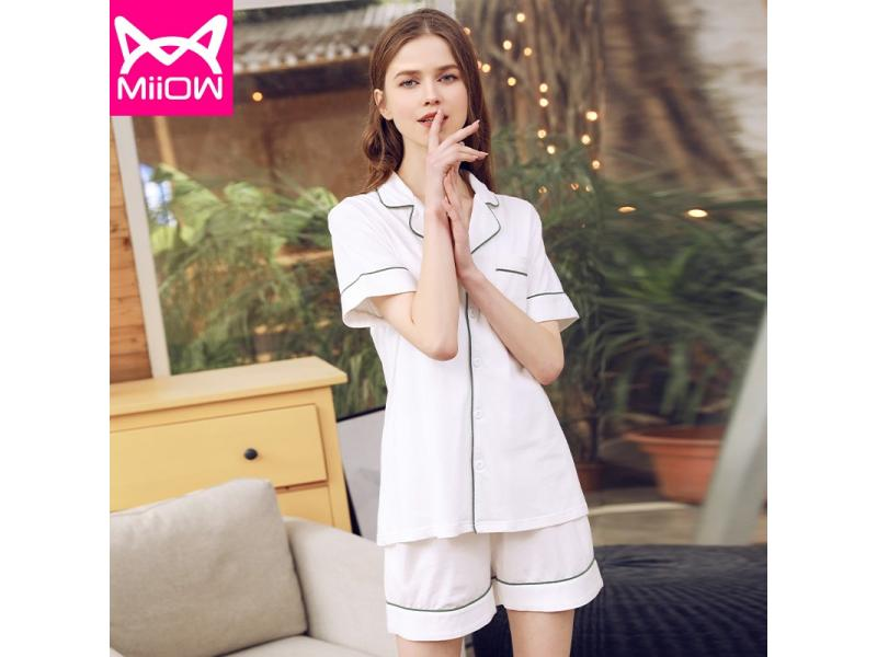 New cherry short-sleeved thin section home service female