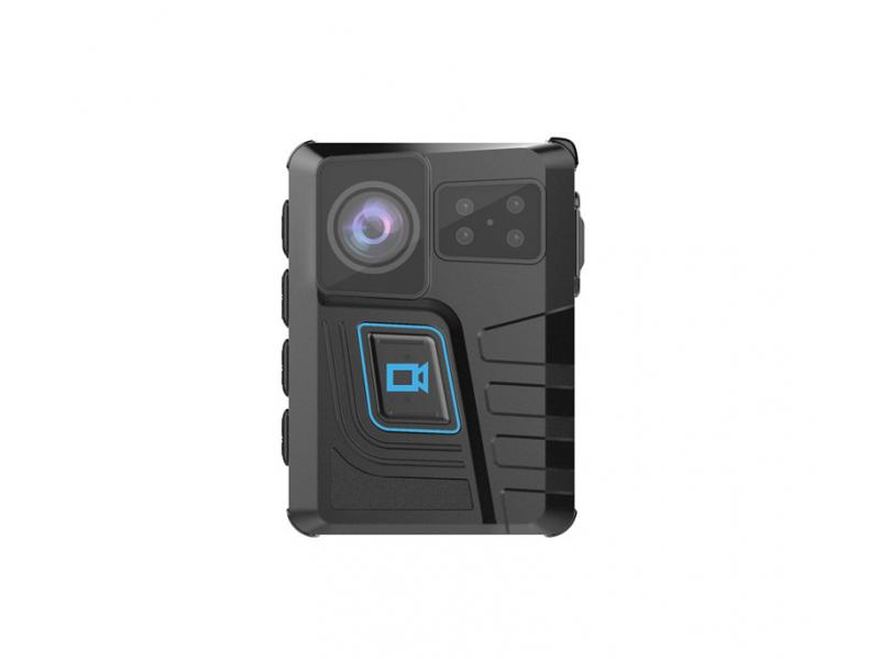 CammPro Mini Body Worn Camera With Warning Lights and Alarm, 64GB Large Memory, Infrared Night Visio