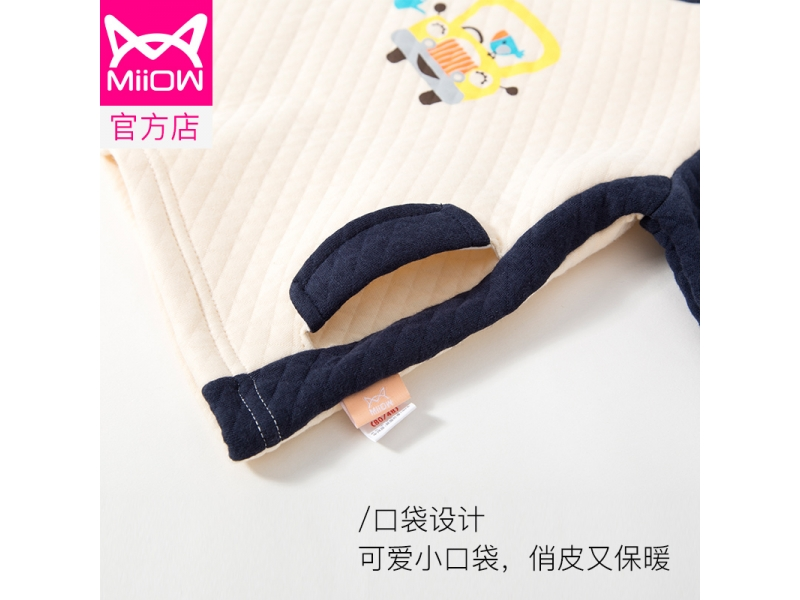 Children's pajamas cotton velvet keep warm