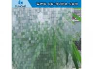 H10506 3D embossing static window film