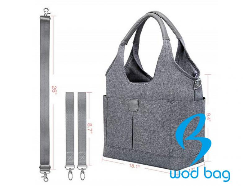 Multi-function Shoulder Diaper Bag