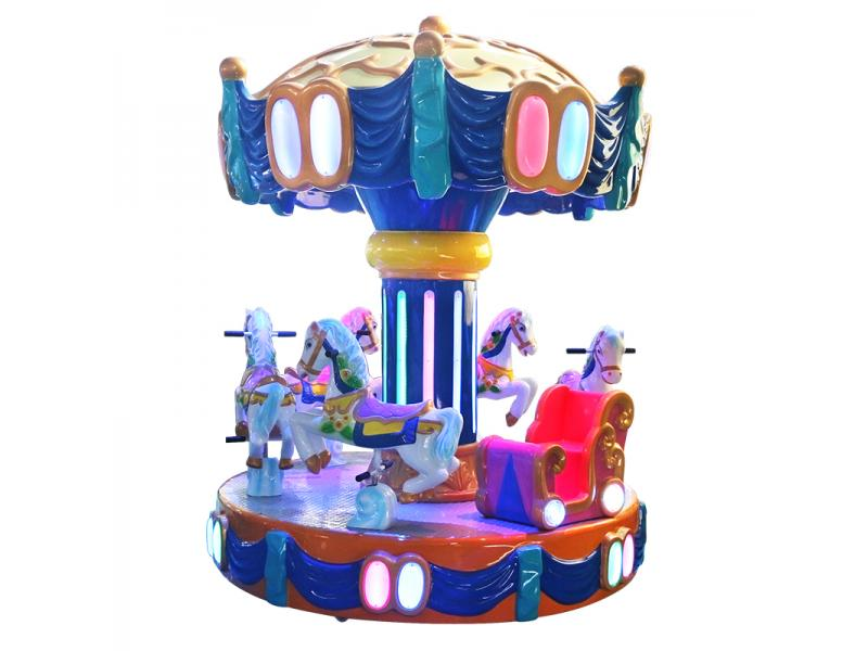 Deluxe Crown Rotating Horse 6 players