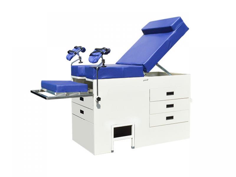 Manual Hospital Medical Gyn obstetric Examination Chair Gynecological Table