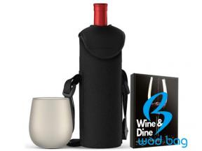 Wine Insulated Tote Bag