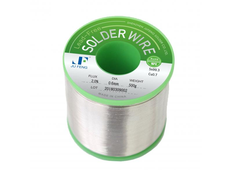 Solder Wire SAC0307 Tin Silver Copper Lead Free Flux Cored Hand Soldering Welding Wires No-Clean 0.5