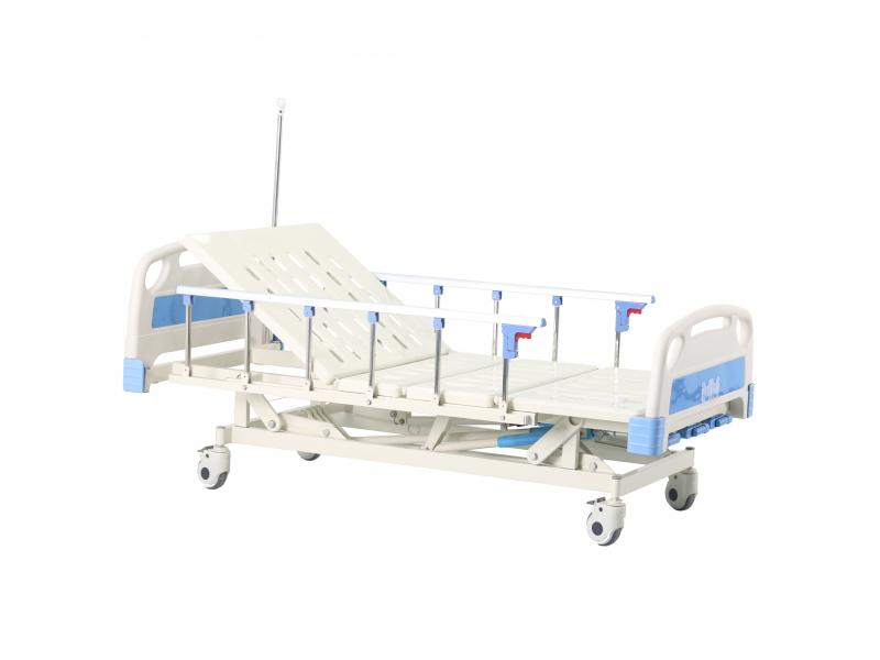 3 cranks manual Medical Three Functions Hospital Medical Bed
