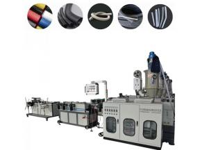 PP/PE/PVC/PA/EVA single wall corrugated pipe extruder machine