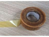 Oily varnished silk tape