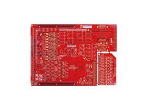 6L RED SOLDERMASK PCB