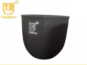 Energy-saving silicon carbide graphite crucible