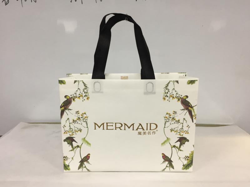 Clothing handbags Environmental friendly non-woven handbag