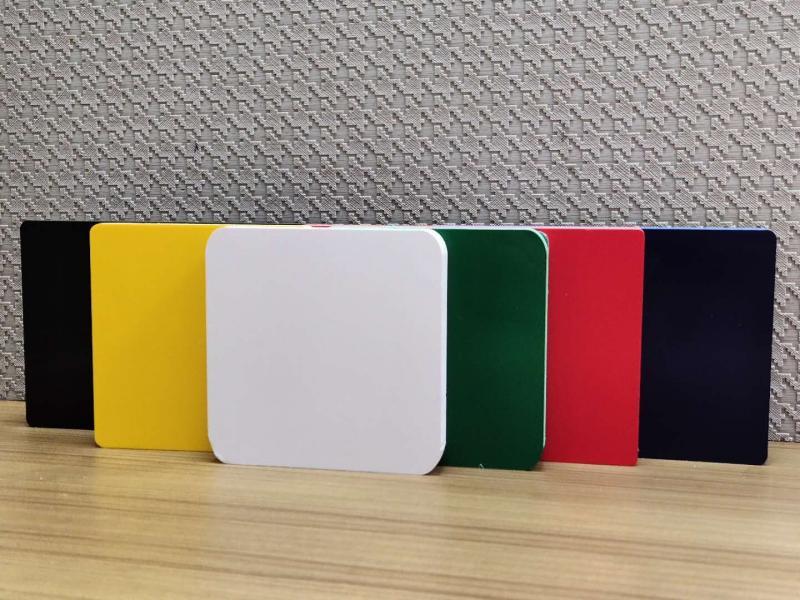 PVC co-extruded color foam board