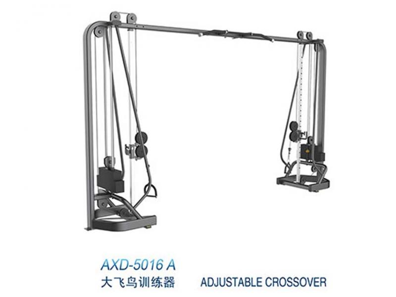 Adjustable crossover trainer