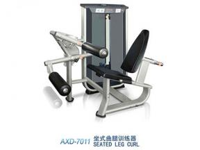Seated leg lurl trainer