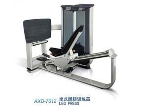 Leg press trainer