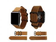 Juelong Crazy Horse Genuine Leather Watch Strap