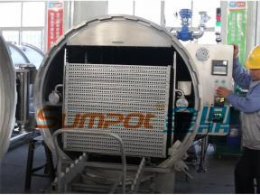 SUMPOT water spray autoclave for coconut waterion
