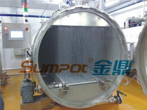 SUMPOT water spray food sterilization machine