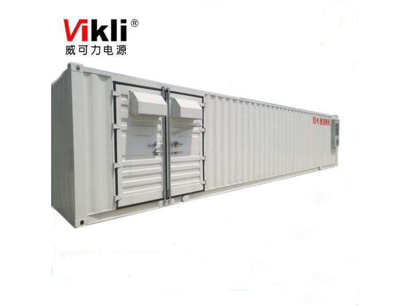 100KW500KWH energy storage project 20ft container ESS for solar system
