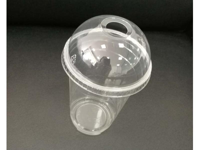 Disposable PET plastic transparent drink cup 24oz (680ml)