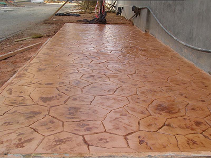 Commercial art floor