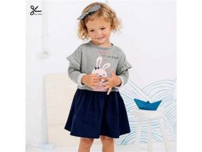 BC07 Spring and Autumn kids wear for girl's suits