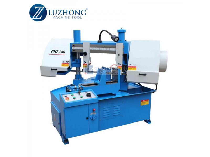 Portable band saw metal cutting machine GHZ4228 Rotating band saw machine
