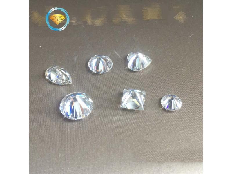 DF color Mosang diamond loose diamond round diamond square drop shape diamond Mosang personalized cu