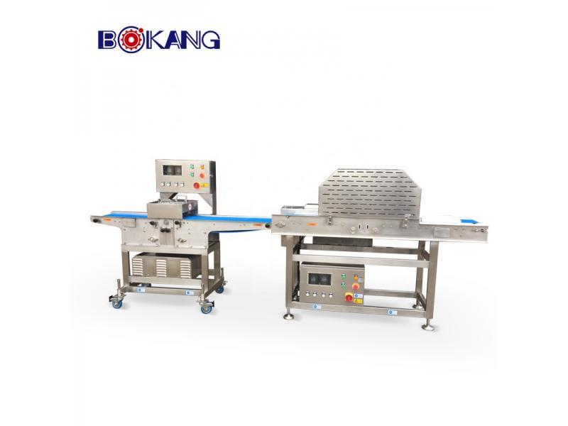 Fresh chicken and meat strip cutting machine 500-1000kg/h
