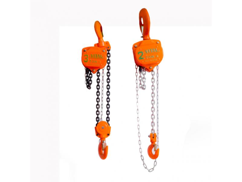 2 ton vital chain pulley block 3 ton chain hoist block