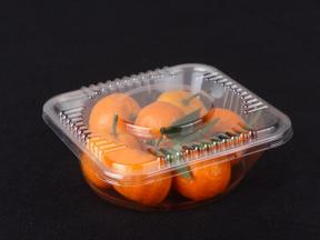 PET plastic fruit packaging box