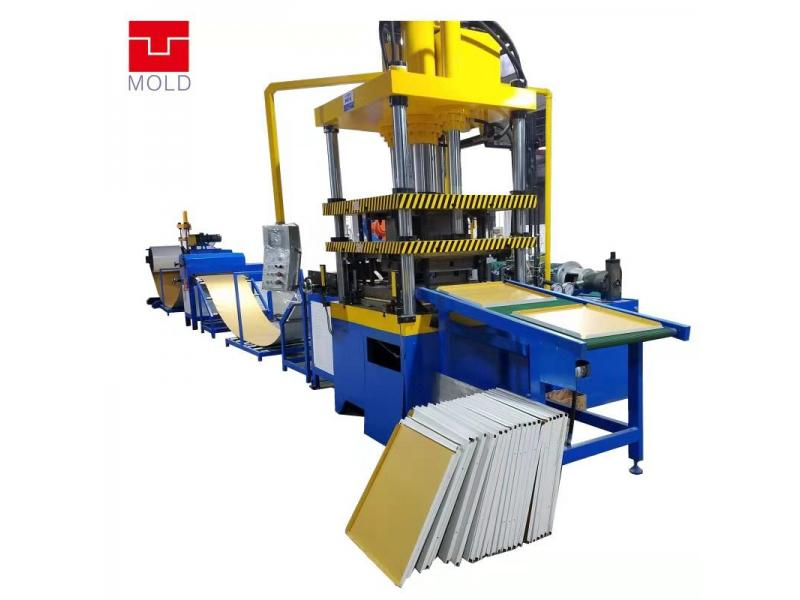 600*600 Fully automatic ceiling plate production line