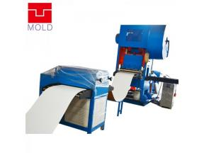 600*600 Aluminuim Ceiling Tiles Punching Machine/ Ceiling tiles automatic production equiment