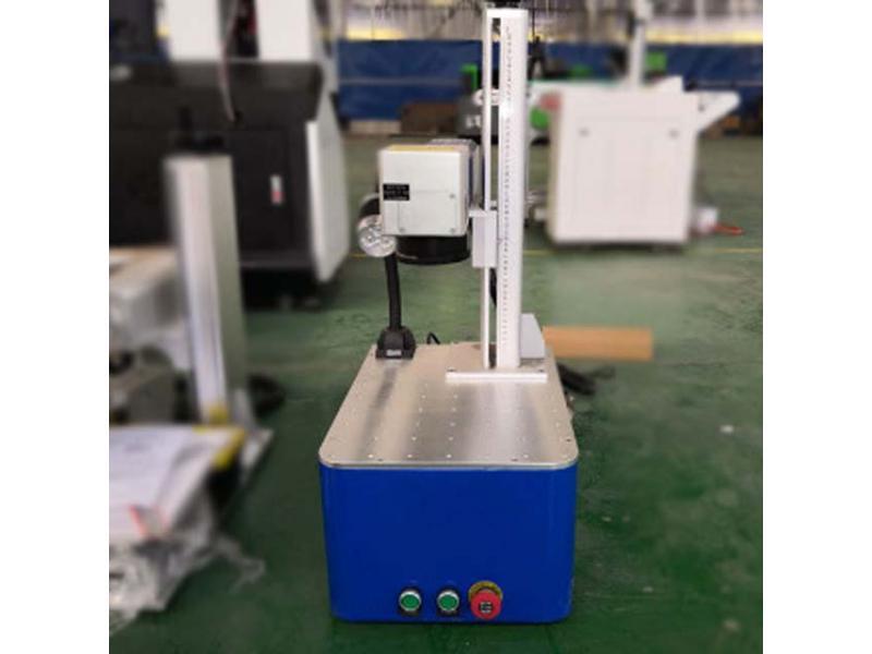 Portable color logo metal fiber marking machine
