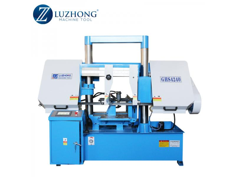 CNC Band sawing machine metal GHS4235 Metal band saw cutting machines