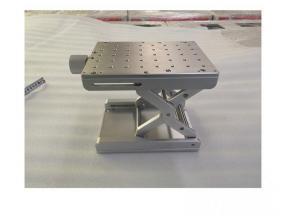 One-dimensional scissor lift table