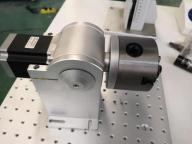 Chuck type marking machine rotary shaft steel pipe marking special