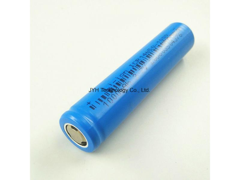 Customized 3.7V Icr 14650 1000mAh Lithium Ion Cell Rechargeable Battery Bank for Electric Toothbrush