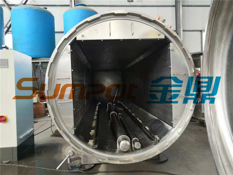 SUMPOT water immersion retort sterilizer for food industry
