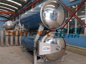 SUMPOT water immersion coconut milk retort sterilizer