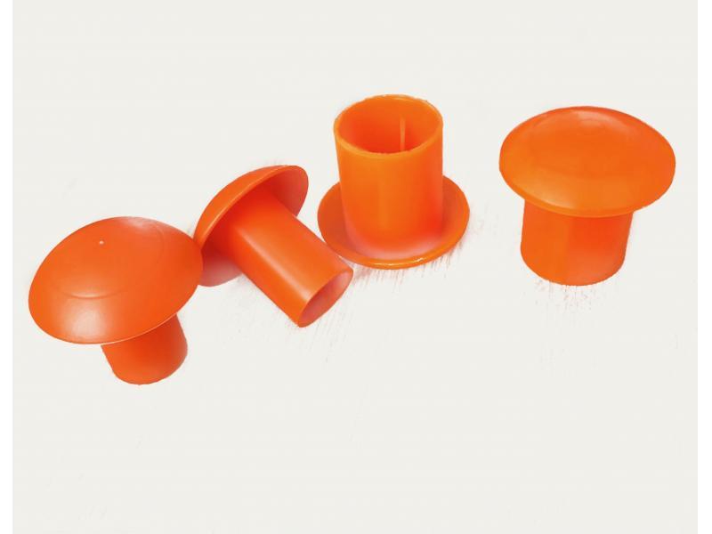 plastic rebar cap