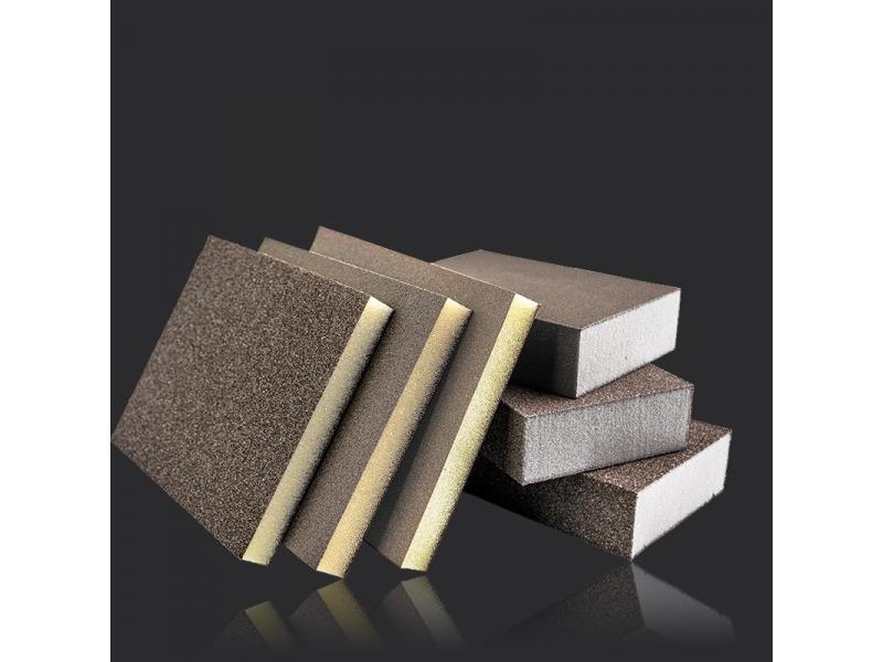 Furniture Polishing Wood Polishing 60#-400# Abrasive Sponge Sanding Block