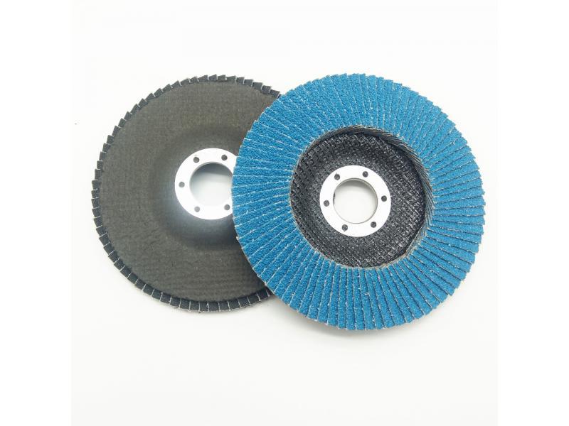 Sharpness Zirconium Zirconia ZA Abrasive Flap Disc For Metal Inox And Stainless