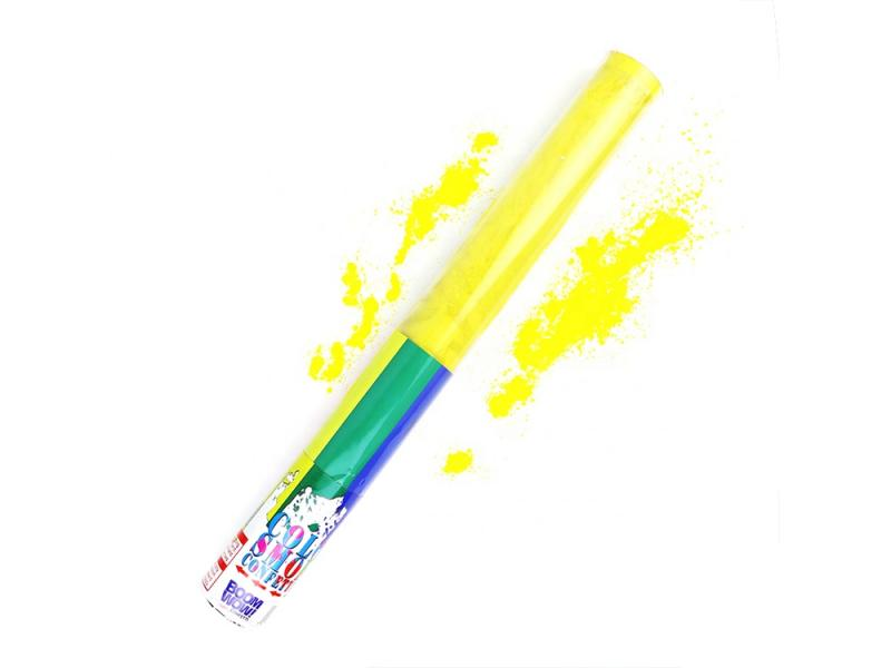 Boomwow handheld co2 corn flour powder cannon party popper color smoke confetti popper for fun color