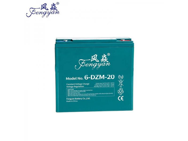 6-DZM-20 12V 20AH electric bike battery