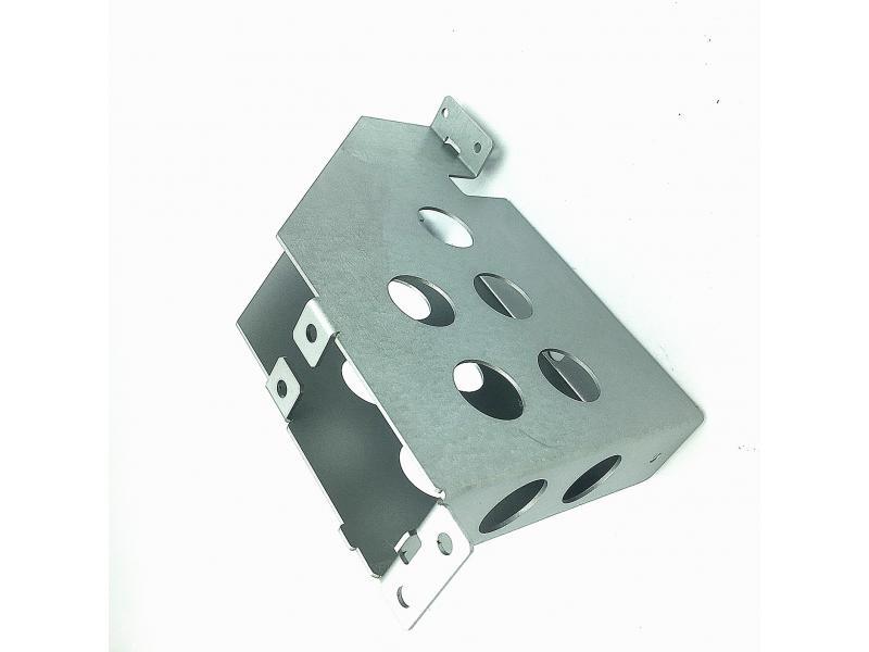 Customized Hot Galvanized Sheet Metal Fabrication Bending Laser Cutting Sheet Metal Parts