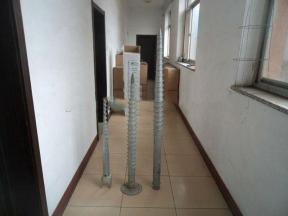 760mm hot dipped galvanized ground screw